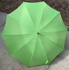 Vintage Miss George Green Umbrella Parasol