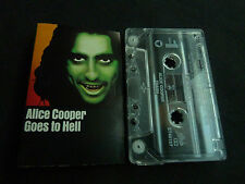 ALICE COOPER GOES TO HELL ULTRA RARE CASSETTE TAPE!