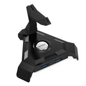Orico Black LH4CS 4 Port USB 3.0 Powered Hub Charging Station & Mouse Holder AU