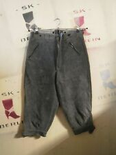 lego  Gotha DDR XS Trachten Lederhose kurz True Vintage leather trousers 3/4