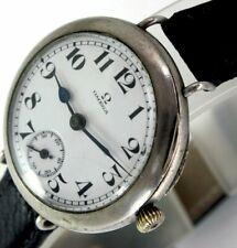 Swiss OMEGA Military Vintage Officer's Watch Armbanduhr World War 1914