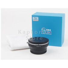 Camera Focal Focus Reducer Speed Booster Adapter For Canon EF Lens to Fujifilm X