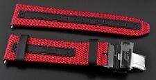 Swiss Army Victorinox Red / Black Performex Leather Strap for Alpnach 005082