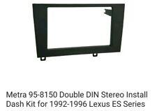 Metra 95-8150 Double DIN Installation Kit for 1992-1996 Lexus ES300 Vehicles METRA Ltd