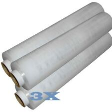 3 ROLL OF STRONG CLEAR STANDER PALLET STRETCH WRAP 400mm X 250m Cling Film D743