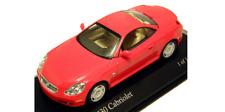 Lexus SC430 2001 Red 400166134 1/43 Minichamps