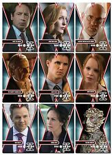 X-Files Season 10 Revival - 10 Card Character Set - Mulder Scully Skinner CSM