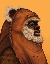 Mike Mitchell Star Wars Portrait Wicket Yub Nub Mondo Acme Archive Print Poster