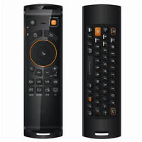 2.4GHz Fly Air Mouse Mele F10 Deluxe Wireless Keyboard Remote Control Learning