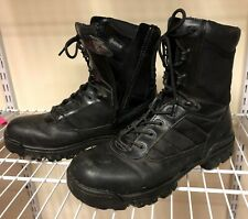 """Bates boots  8"""" Tactical Sport Side Zip 10EW  leather upper"""