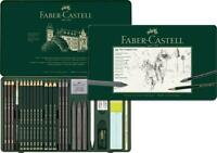 Faber Castell Pitt Monochrome Set 26 Piece Tin FC112974