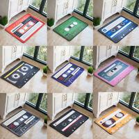 Creative Music Cassette Doormat Non Slip Floor Mat Kitchen Bedroom Rugs Carpet