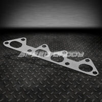 FOR 90-93 HONDA ACCORD CB1-CB4 EXHAUST MANIFOLD FLANGE ALUMINUM//GRAPHITE GASKET