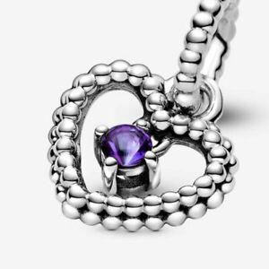 Pandora Birthstone S925 Ale Charm Dangle Charm January to December With Bag