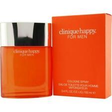 Clinique Happy For Men 3.4 oz 100 ml Eau De Toilette Spray New & Sealed