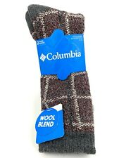 Columbia Men's 2 Pair Pack Wool Crew Socks