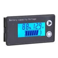 Digital LCD Battery Capacity Indicator DC 8V-100V Battery Voltage Meter