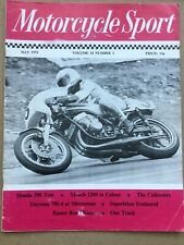 Motorcycle Sport Magazine - May 1973 - Honda 350, Munch 1200, Honda CR750