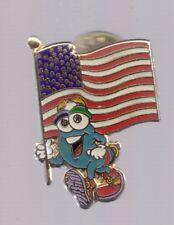 1996 Izzy Atlanta Olympic Pin US Flag USA Small Version