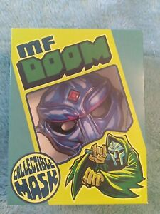 🔥 RARE MF DOOM Sapphire Blue Collectable Mask