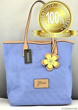 New Trend Limited GuEsS Handbag Ladies Curacao Bag Blueberry SATCHEL BNWT