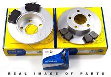 REAR AXLE BRAKE SET DISCS & PADS AUDI A6 SKODA SUPERB VW PASSAT ADB0797 ADC1427