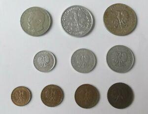 Lote Monedas Polonia 1970 - 1992