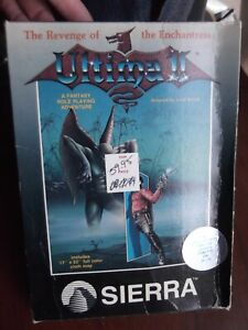 Ultima II for Atari 400/800 by Sierra New Old Stock Not Sealed Store Return