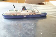 P & O Pride of Bruges Channel Ferry NEW Metal model from Mountford.2019