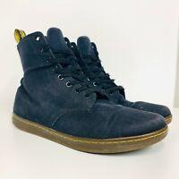 Dr. Martens 'Alfie' Black Canvas Boots Men's Size US 12 UK 11 Docs Shoes