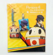 Persona 4 the Animation Naoto Shirogane & Teddie Phone Screen Wipe Keychains