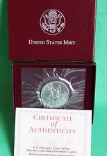 1995 BU Half Dollar Baseball Olympic Coin US Mint UNC Commemorative Complete