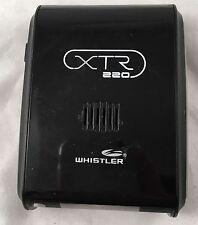 Whistler Xtr-220 Radar Detector X, K, Ka, and Super Wideband Ka Detection