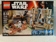 LEGO 75139; Star Wars, Battle on Takodana (NEW IN SEALED BOX) FREE SHIPPING