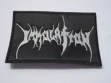 IMMOLATION DEATH METAL EMBROIDERED PATCH