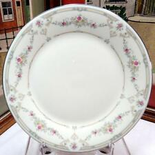 "ROYAL DOULTON ENGLAND TAMARA YELLOW AND PINK FLORAL 8"" SALAD PLATE 1983-1992"
