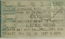 Foo Fighters Signed Tickets Pat Smear Autographed Ticket (Dave Grohl Nirvana)