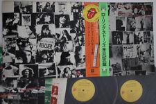 2LP ROLLING STONES Exile On Main St P5051S ROLLING STONES JAPAN Vinyl OBI