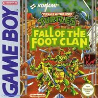 Nintendo GameBoy Classic Turtles: Fall of the Foot Clan  / Zustand auswählbar