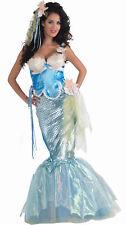 Sexy Mermaid Dress Adult Womens Halloween Costume Mystical Sea Nymph Creature