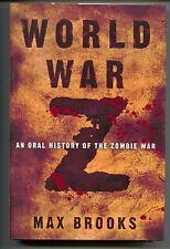 World War Z An Oral History Of The Zombie War HC 1st Edition Print Brad Pitt