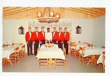 The Hayman's Restaurant NAGS HEAD Vintage Seafood PC Black Waiter 1960s