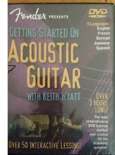 FENDER PRESENTS 'GETTING STARTED ON ACOUSTIC GUITAR' BY KEITH WYATT