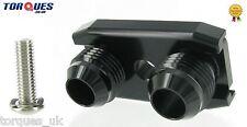 AN-10 BMW E36 Euro,E82,E9X 135/335,E46 M3 Air Oil Cooler Adapter kit BLACK