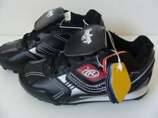 NWT Rawlings Boys Black Baseball Cleats 6 Team Color Grip Low Cut Shoes Youth