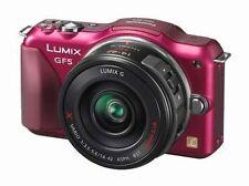 Panasonic LUMIX DMC-GF5X 12.1 MP Digital Camera - Red (Kit w/ ASPH 14-42mm...