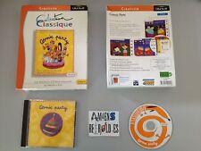Cosmic Party UBISOFT PC FRancais Big Box Eurobox grosse boite carton