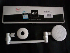 "DORF ""STAYFAST AAA SHOWER "" Rose, Head  in WHITE"