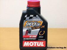 Motul Shock Oil Factory Line SAE 2,5W 1 Ltr spezielles Dämpferöl VI 400