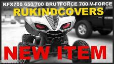 650 /700 Prairie 700 V-Force KFX 700 650 BRUT FORCE Blue Headlight Covers